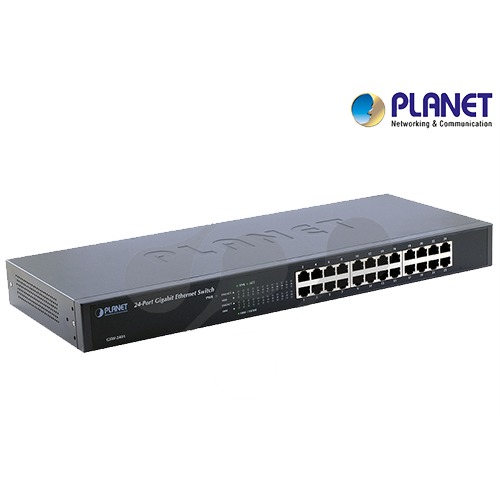 24-Port 10/100/1000Mbps Gigabit Ethernet Switch